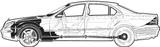 Imprimer le coloriage : Mercedes-Benz, numéro 106055