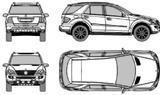 Imprimer le coloriage : Mercedes-Benz, numéro 106057