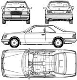 Imprimer le coloriage : Mercedes-Benz, numéro 106061