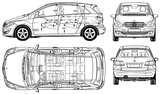 Imprimer le coloriage : Mercedes-Benz, numéro 106071