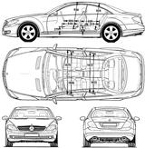 Imprimer le coloriage : Mercedes-Benz, numéro 106073
