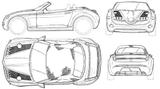 Imprimer le coloriage : Mercedes-Benz, numéro 106089