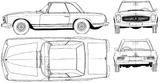 Imprimer le coloriage : Mercedes-Benz, numéro 106091