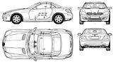 Imprimer le coloriage : Mercedes-Benz, numéro 114667