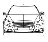 Imprimer le coloriage : Mercedes-Benz, numéro 125988