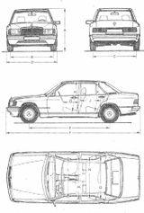 Imprimer le coloriage : Mercedes-Benz, numéro 138938