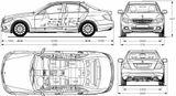 Imprimer le coloriage : Mercedes-Benz, numéro 256385