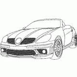 Imprimer le coloriage : Mercedes-Benz, numéro 3796