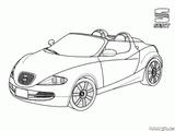 Imprimer le coloriage : Mercedes-Benz, numéro 3a247912