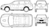 Imprimer le coloriage : Mitsubishi, numéro 105030
