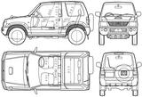Imprimer le coloriage : Mitsubishi, numéro 105034