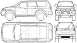 Imprimer le coloriage : Mitsubishi, numéro 105038