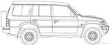 Imprimer le coloriage : Mitsubishi, numéro 276959