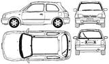 Imprimer le coloriage : Nissan, numéro 105081