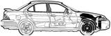 Imprimer le coloriage : Nissan, numéro 105082