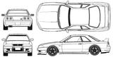 Imprimer le coloriage : Nissan, numéro 105083