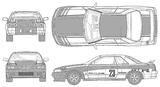 Imprimer le coloriage : Nissan, numéro 105084