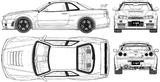 Imprimer le coloriage : Nissan, numéro 105092