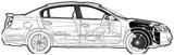 Imprimer le coloriage : Nissan, numéro 114537