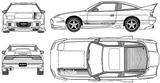 Imprimer le coloriage : Nissan, numéro 148376