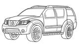 Imprimer le coloriage : Nissan, numéro 434539