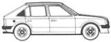 Imprimer le coloriage : Opel, numéro 105125