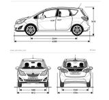 Imprimer le coloriage : Opel numéro 544727
