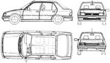 Imprimer le coloriage : Peugeot, numéro 105171