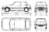 Imprimer le coloriage : Peugeot, numéro 105184