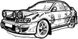 Imprimer le coloriage : Peugeot, numéro 3805