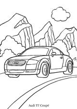 Imprimer le coloriage : Porsche, numéro 105505
