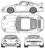 Imprimer le coloriage : Porsche, numéro 106183