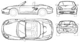 Imprimer le coloriage : Porsche, numéro 106198
