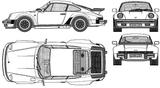 Imprimer le coloriage : Porsche, numéro 106219