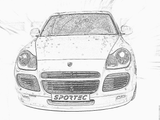 Imprimer le coloriage : Porsche, numéro 106223