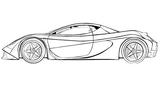 Imprimer le coloriage : Porsche, numéro 126071