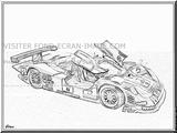Imprimer le coloriage : Porsche, numéro 218260
