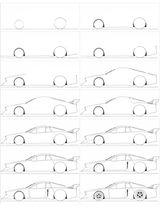 Imprimer le coloriage : Porsche, numéro 3802