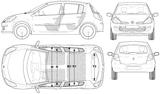 Imprimer le coloriage : Renault, numéro 105210