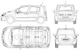 Imprimer le coloriage : Renault, numéro 105220