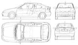 Imprimer le coloriage : Renault, numéro 105222