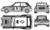 Imprimer le coloriage : Renault, numéro 195232