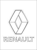 Imprimer le coloriage : Renault, numéro 528251