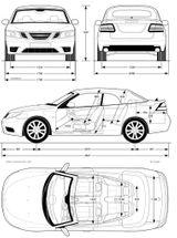 Imprimer le coloriage : Saab, numéro 106229