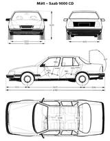 Imprimer le coloriage : Saab, numéro 753785