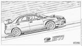 Imprimer le coloriage : Subaru, numéro 105291