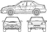 Imprimer le coloriage : Subaru, numéro 105293