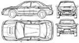 Imprimer le coloriage : Subaru, numéro 105298