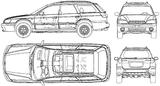 Imprimer le coloriage : Subaru, numéro 105309