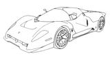 Imprimer le coloriage : Subaru, numéro 105319